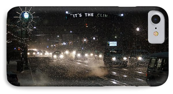 Its The Climate - Christmas Snow Phone Case by Mick Anderson