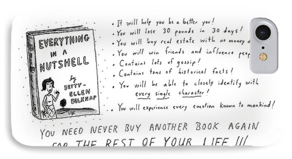 It's The Miracle Book! IPhone Case by Roz Chast