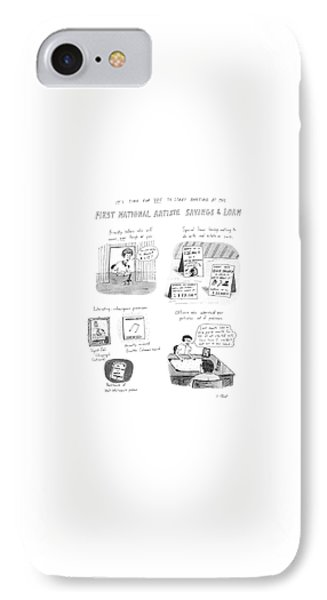 It's Time For You To Start Banking At The First IPhone Case by Roz Chast