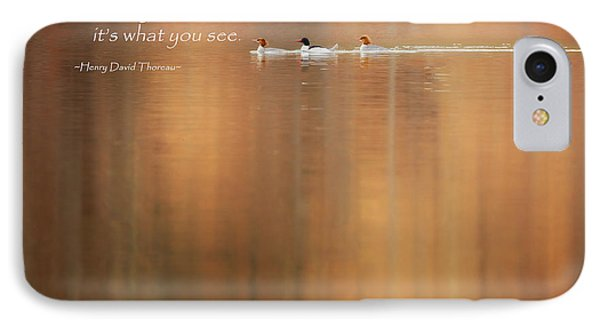 It's What You See IPhone Case by Bill Wakeley