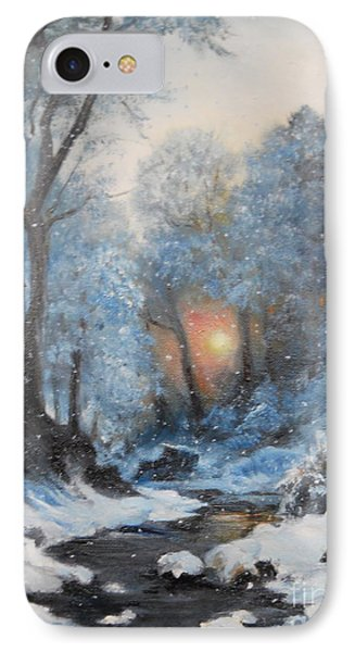 It's Winter IPhone Case by Sorin Apostolescu
