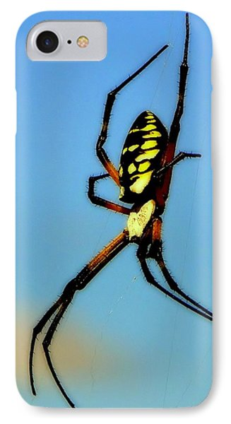 Itsy Bitsy Spider Phone Case by Karen Wiles