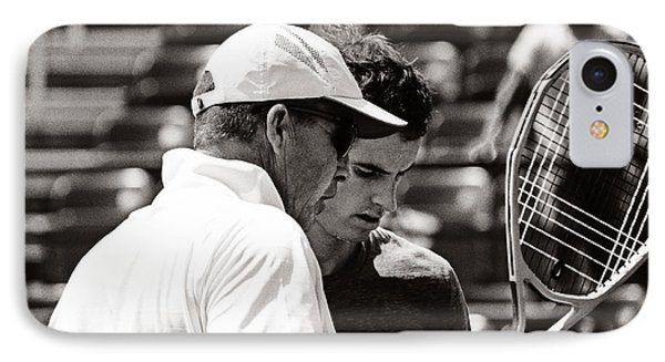 Ivan Lendl And Andy Murray  IPhone Case