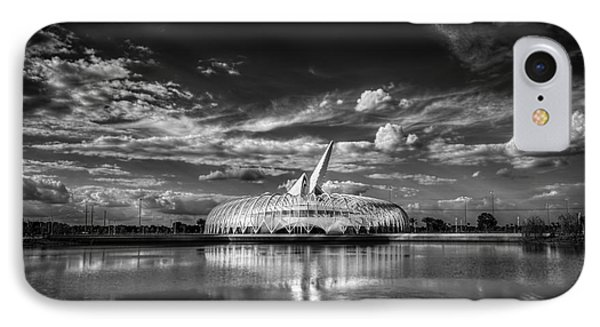 Ivory Tower Of Knowledge Bw IPhone Case