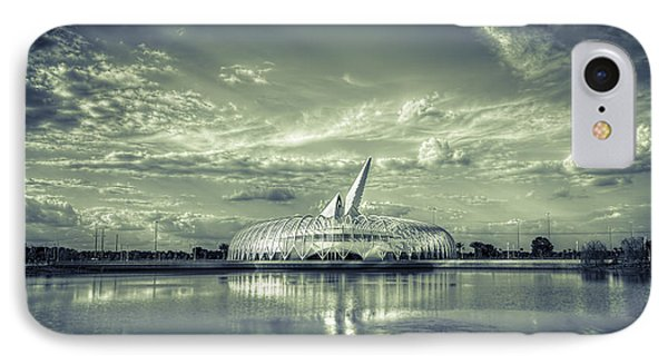 Ivory Tower Of Knowledge- Split Tone IPhone Case by Marvin Spates