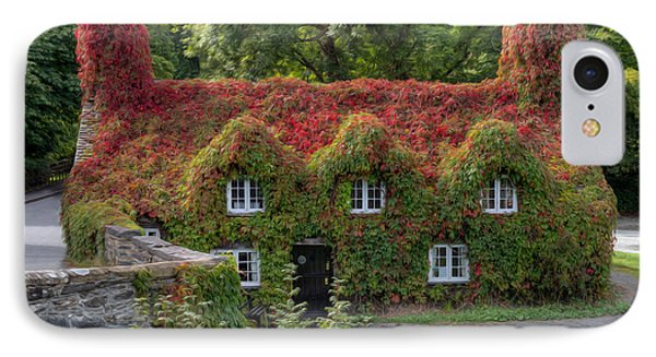 Ivy Cottage IPhone Case by Adrian Evans