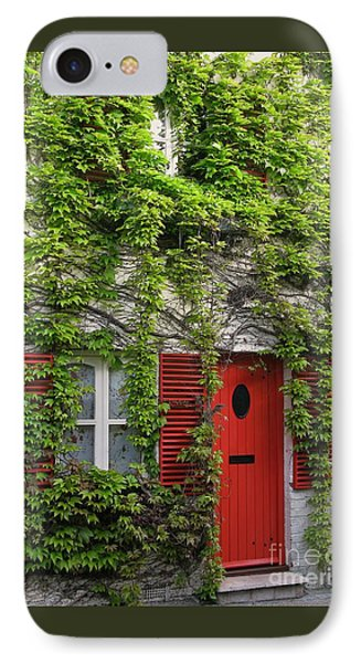 Ivy Cottage Phone Case by Ann Horn
