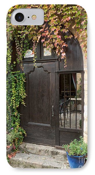 Ivy Covered Doorway IPhone Case