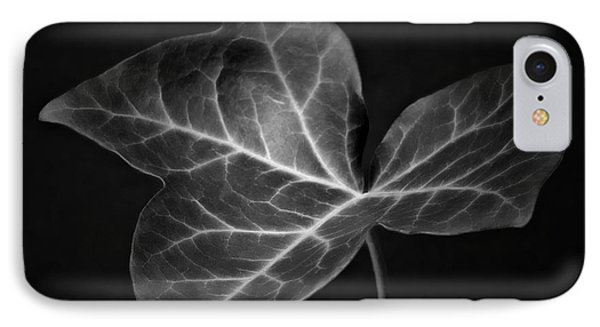 IPhone Case featuring the photograph Black And White Flowers Macro Photography Art Work by Artecco Fine Art Photography