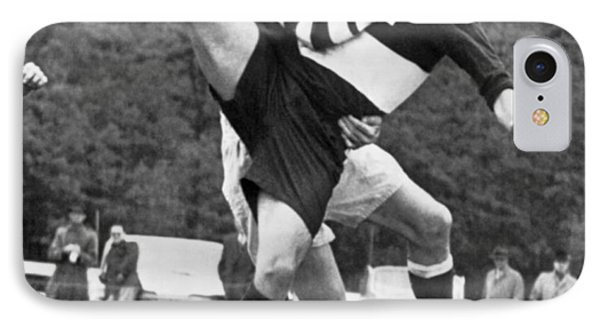 Ivy League Rugby Match IPhone Case by Underwood Archives