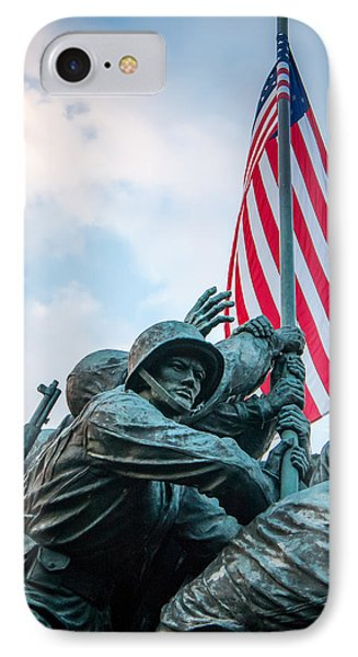 IPhone Case featuring the photograph Iwo Jima Forward by Dawn Romine