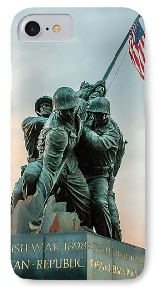 IPhone Case featuring the photograph Iwo Jima Memorial by Dawn Romine