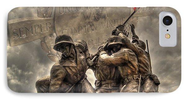 Iwo Jima IPhone Case by Timothy Lowry