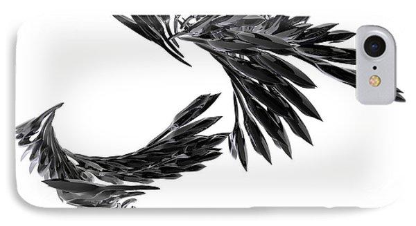 J Big   Crows IPhone Case