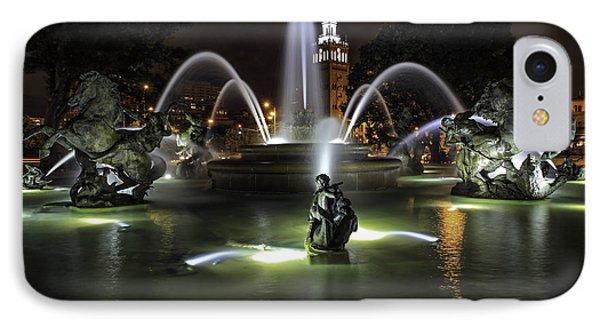 J C Nichols Fountain IPhone Case
