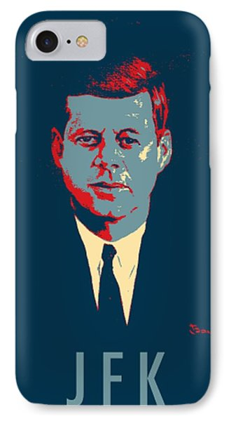 J F K In Hope IPhone Case by Rob Hans