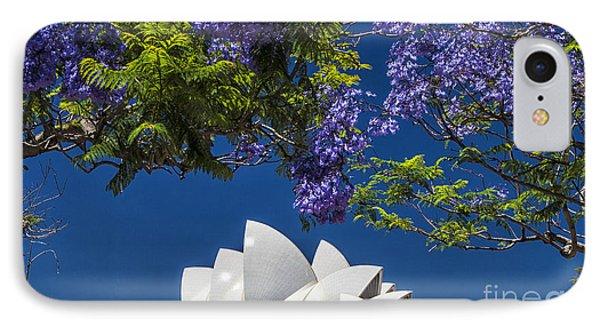 Jacaranda Spring IPhone Case by Avalon Fine Art Photography