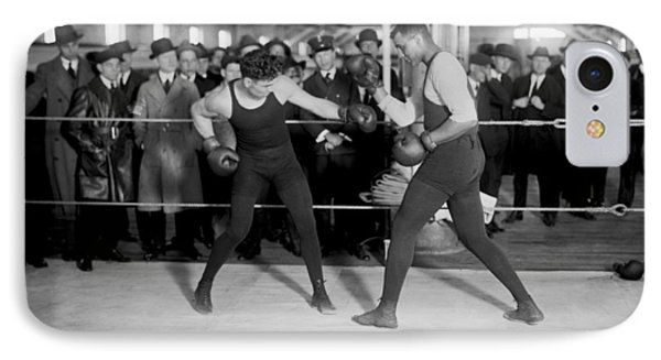 Jack Dempsey Sparring IPhone Case