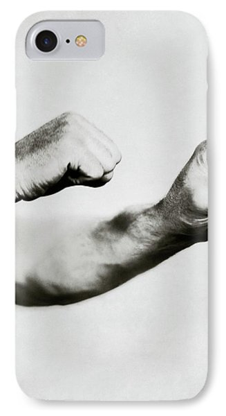 Jack Dempsey's Hands IPhone Case by Ira L. Hill