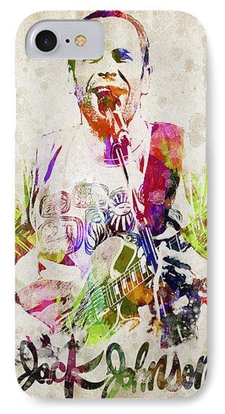Jack Johnson Portrait IPhone Case by Aged Pixel