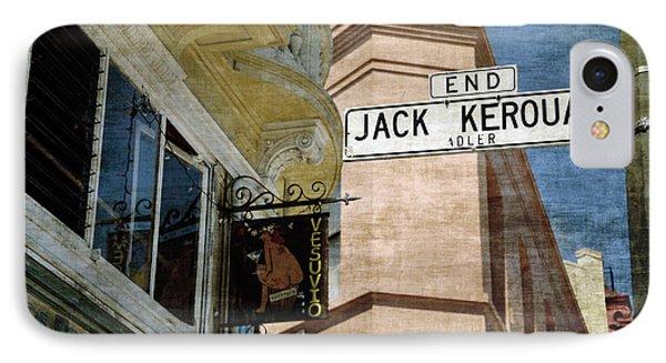 Jack Kerouac Alley And Vesuvio Pub Phone Case by RicardMN Photography