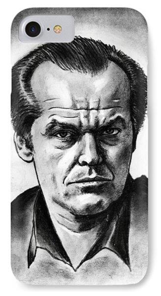 Jack Nicholson Phone Case by Salman Ravish