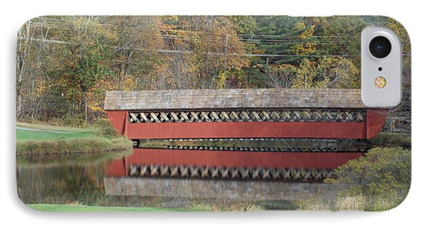 Jack O Lantern Bridge IPhone Case by Catherine Gagne