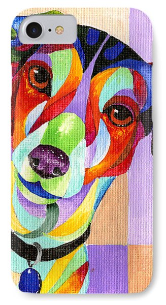 Jack Russell Terrier IPhone Case by Sherry Shipley