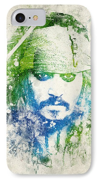 Jack Sparrow IPhone Case by Aged Pixel