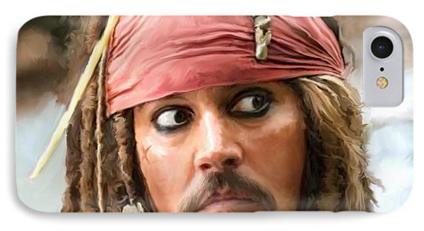 Jack Sparrow IPhone Case by Paul Tagliamonte