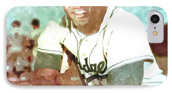 Jackie Robinson IPhone Case