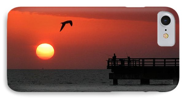 Jacks Sunrise IPhone Case by Leticia Latocki