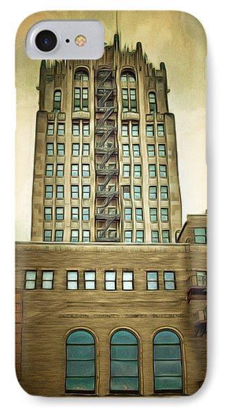 Jackson County Tower IPhone Case by MJ Olsen