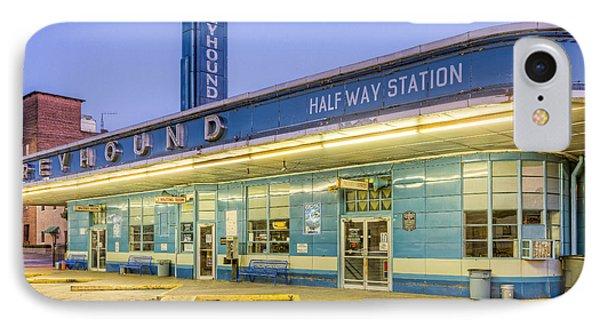 Jackson Greyhound Bus Station IIi IPhone Case