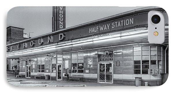 Jackson Greyhound Bus Station Iv IPhone Case