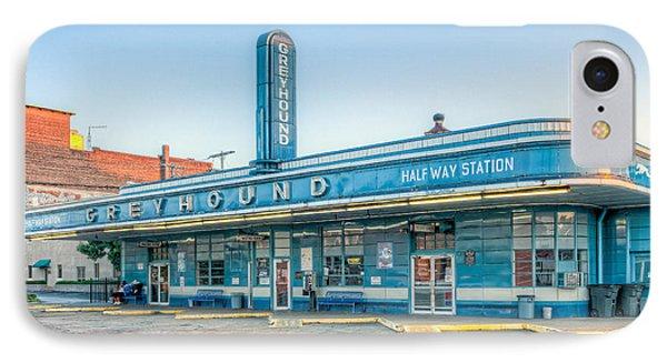 Jackson Greyhound Bus Station V IPhone Case