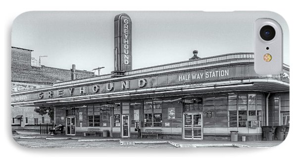 Jackson Greyhound Bus Station Vi IPhone Case