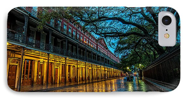 Jackson Square At Dawn Phone Case by Andy Crawford