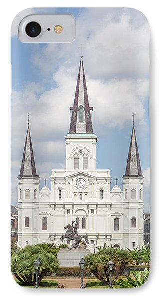 Jackson Square Cathedral IPhone Case
