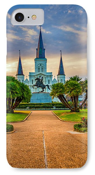 Jackson Square Cathedral Phone Case by Steve Harrington