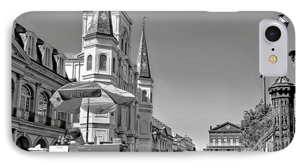 Jackson Square Monochrome Phone Case by Steve Harrington
