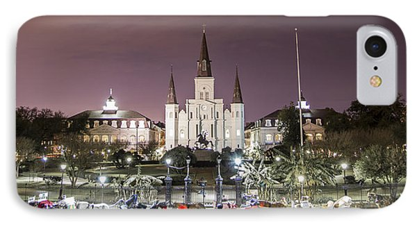 Jackson Square Panoramic  IPhone Case by John McGraw