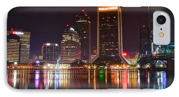 Jacksonville Aglow IPhone Case by Frozen in Time Fine Art Photography