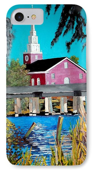 Jacksonville Nc A First Impression IPhone Case by Jim Phillips