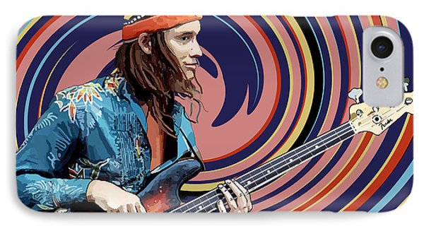 Jaco Pastorius IPhone Case by Kevin Sweeney