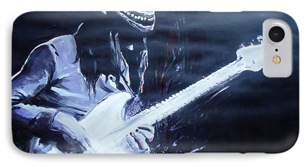 Jaco Pastorius IPhone Case by Lucia Hoogervorst
