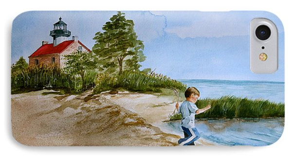 Jacob At East Point  Phone Case by Nancy Patterson