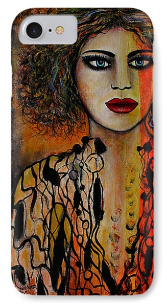 Jacquelyn Phone Case by Natalie Holland