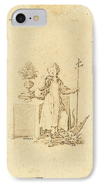 Jacques Callot, French 1592-1635, The Young Jesus IPhone Case by Litz Collection