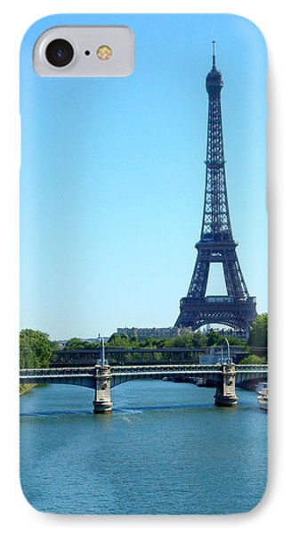 IPhone Case featuring the photograph J'adore Paris by Kay Gilley